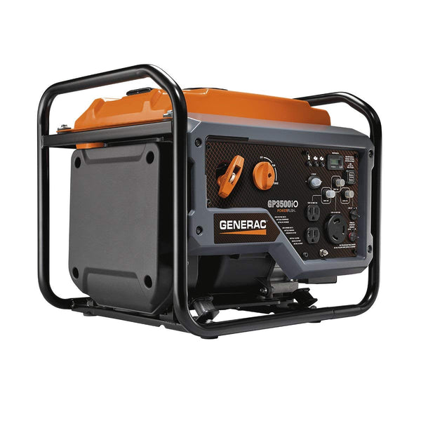 Generac 7128 GP Series 3500iO Portable Generator with Open Frame, 3000 Watts