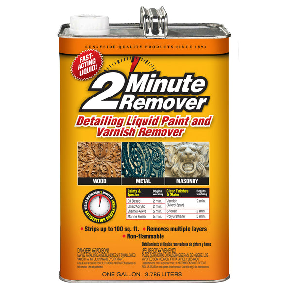 2-Minute Remover 640G1 Detailing Liquid Paint & Varnish Remover, 1 Gallon
