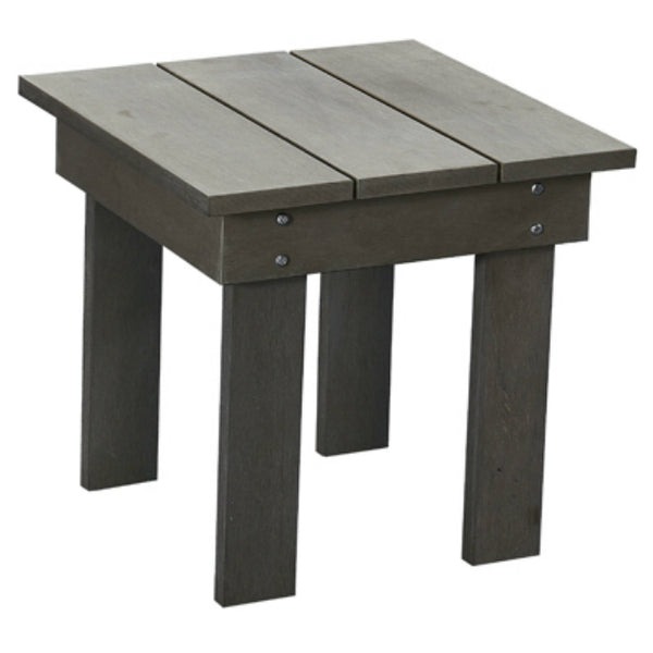 Leigh Country TX94044 All Weather Polystyrene Side Table, Gray, 18""