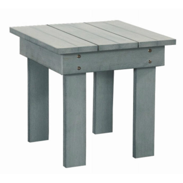 Leigh Country TX94041 All Weather Polystyrene Side Table, Light Blue, 18""
