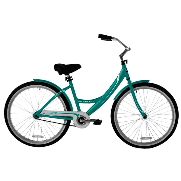 Kent 82663 Ladies Cruiser Bicycle with Aluminum Frame, Aqua, 26""