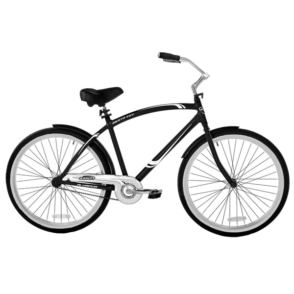 Kent 82662 Men's Cruiser Bicycle with Aluminum Frame, Black, 26""