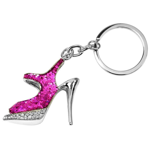 Hy-Ko KH705 Bling High Heel Shoe Key Chain