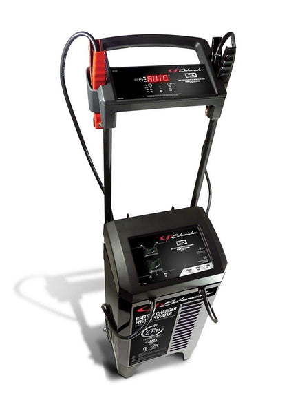 Schumacher SC1326 Battery Charger & Engine Starter, 275A, 6/12V