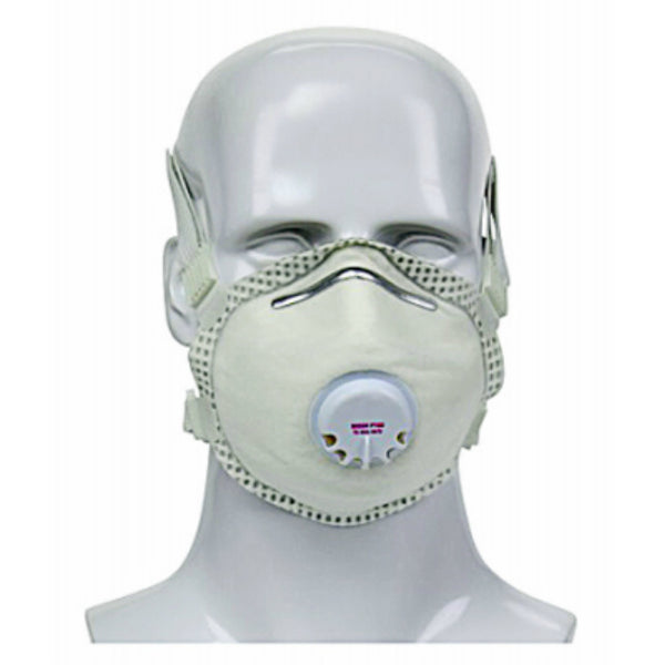 Safety Works SWX00487 Dust Disposable Respirator w/ Exhalation Valve, P-100