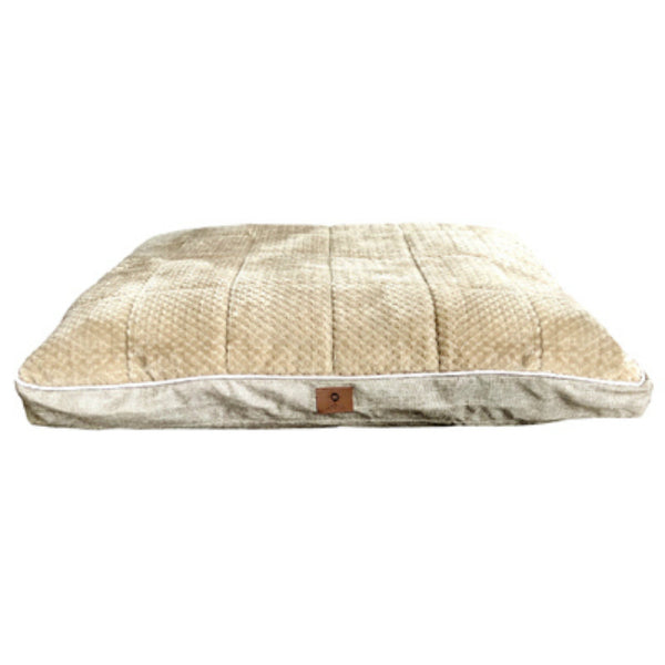 "American Kennel Club AKC9135 Burlap & Pixel Thermal Gusset Pet Bed, 27"" x 36"""