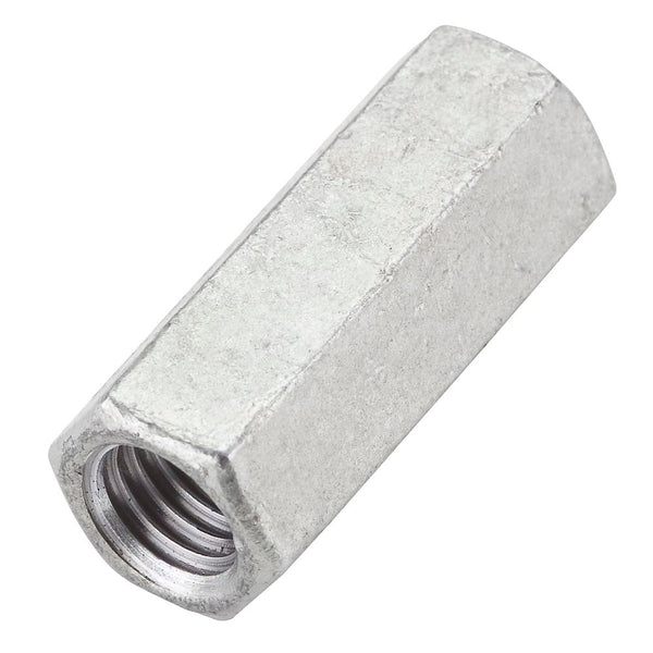 National Hardware N182-726 Galvanized Coupler Nut, 3/4-10""