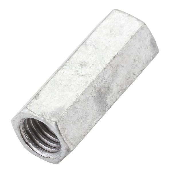 "National Hardware N182-718 Galvanized Finish Coupler, 5/8"" - 11"""