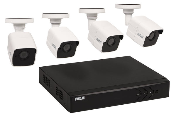 RCA HSKIT483 Super HD Security & DVR System, 3 MP Video