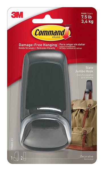 Command 17088s Es Decorative Jumbo Hook With 2 Adhesive