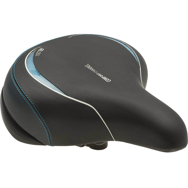 Bell 7070528 Comfort 610 Gel Bike Seat with Seat Clamp
