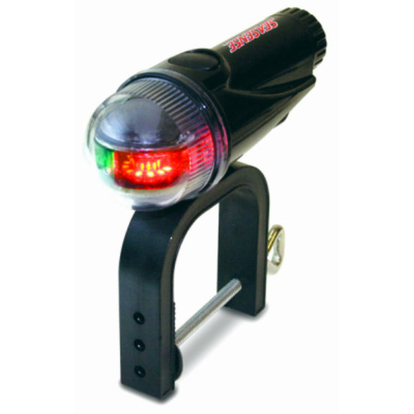 SeaSense 50073853 Clamp On Portable Bow LED Light, Red & Green