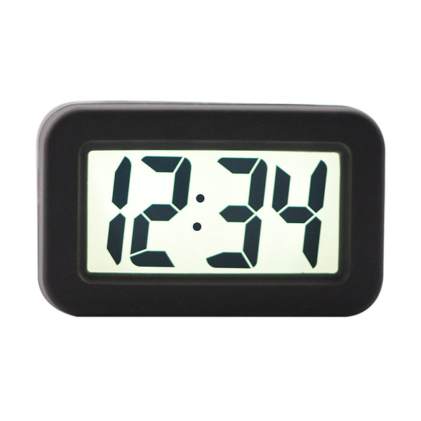 La Crosse 70940 Silicon LCD Alarm Clock, Assorted Colors