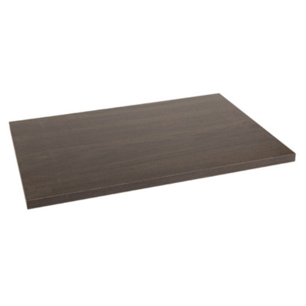 Knape & Vogt 0330-1623ESP Wood Shelf for Shelf Bracket, Espresso, 16""