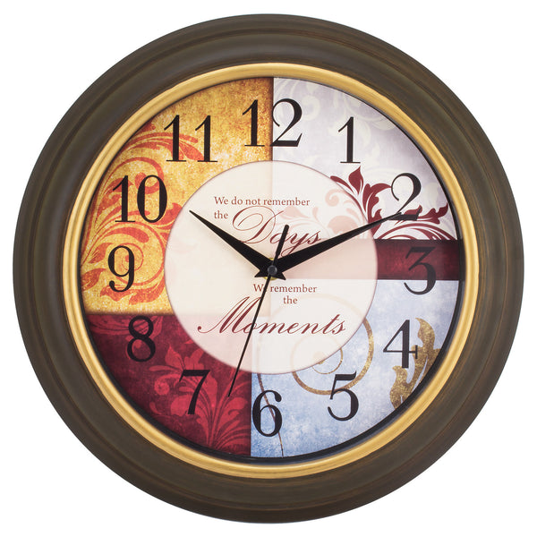 "La Crosse 84601 Wall Clock with 11.25"" Round Case"