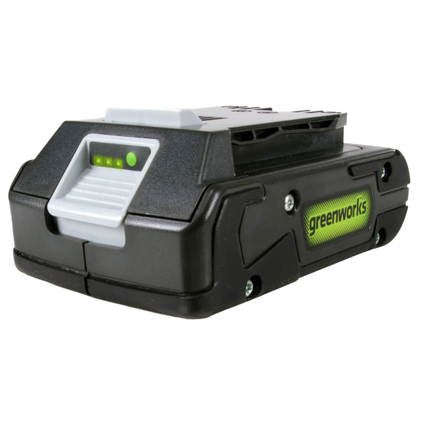 Greenworks 29852 Lithium Ion Battery with LED Indicator, 4Ah, 24V