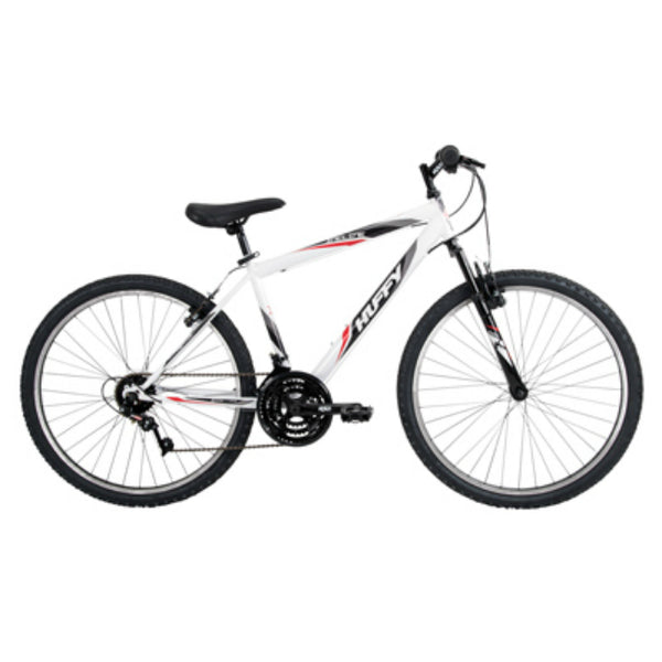 Huffy 26329 Men's 18 -Speed Incline Bicycle, Gloss White, 26""