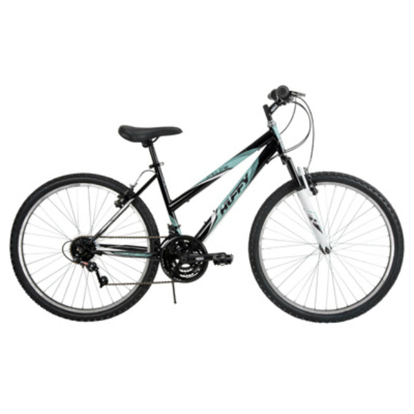 Huffy 26339 Women's 18-Speed Incline Bicycle, Glass Black, 26""