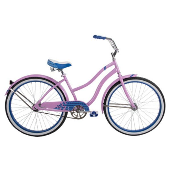 Huffy 26639 Good Vibrations Ladies Cruiser Bike, Purple, 26""