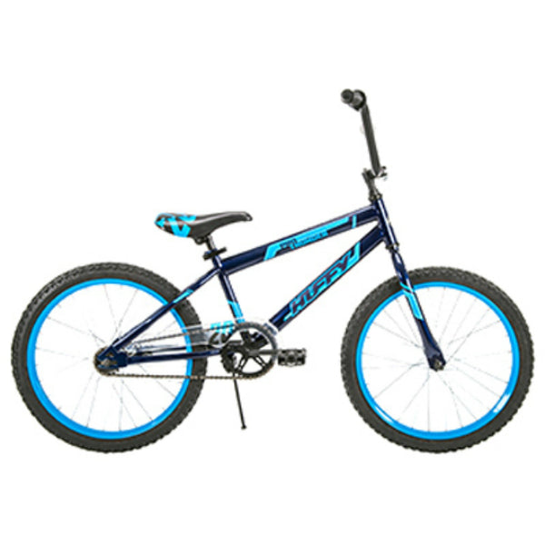 Huffy 23309 Pro Thunder Boys' Bike with Steel Frame, Blue Abyss, 20""
