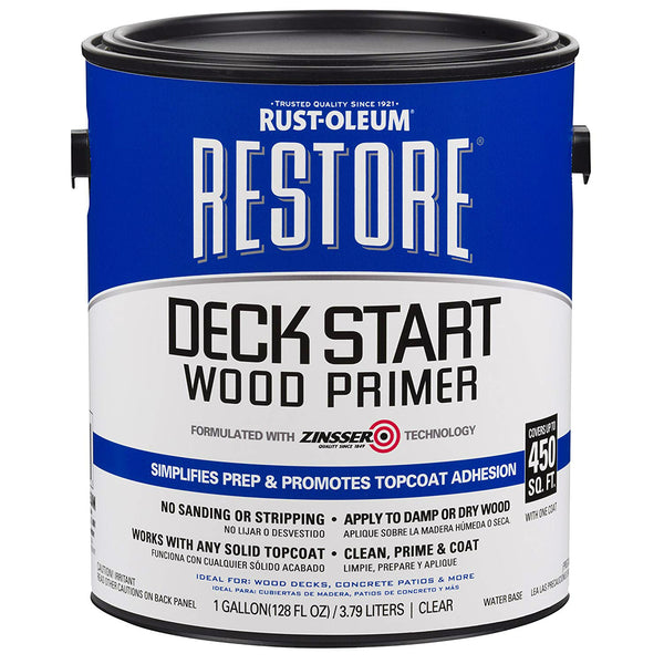 Rust-Oleum 301233 Restore Deck Start Wood Primer, 1-Gallon
