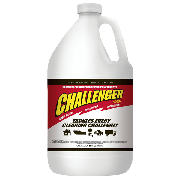 Challenger 737G1 Concentrated Degreaser, 1 Gallon