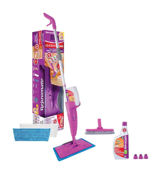 Rejuvenate RJCLICKMOP1 Click-N-Clean Multi Surface Spray Mop System
