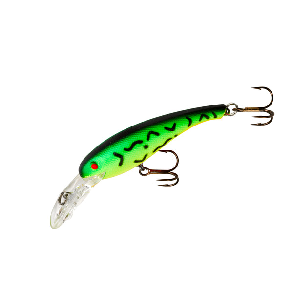 Cotton Cordell 0141-3565 Floating Wally Diver Crankbait Lure, Firetiger, 2-1/2""