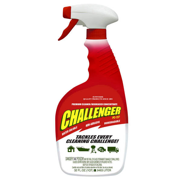 Challenger 73732 Concentrated Degreaser, 1 Qt