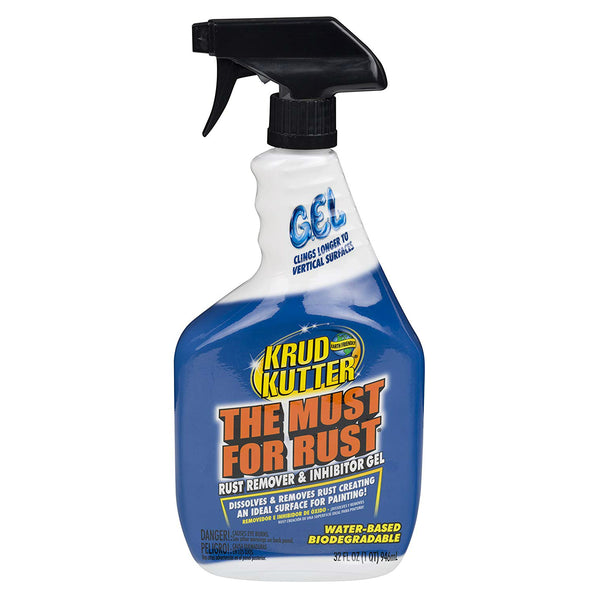 Krud Kutter 305982 The Must for Rust Gel Rust Remover & Inhibitor Gel, 32 Oz