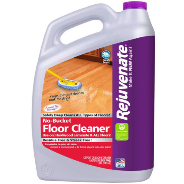 Rejuvenate RJFC128 No Bucket Floor Cleaner, 128 Oz