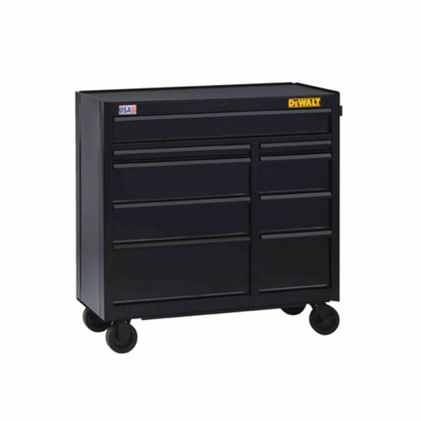 "DeWalt DWST24190 Rolling Tool Cabinet with 9-Drawer, 41"" Wide"