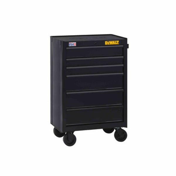 "DeWalt DWST22760 Rolling Tool Cabinet with 6-Drawer, 26"" Wide"