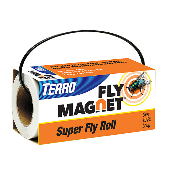 TERRO T521 Fly Magnet Super Fly Roll for Flies & Flying Insects
