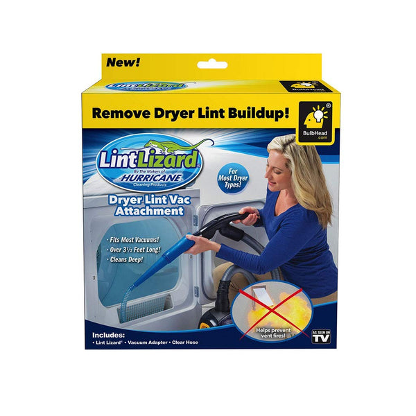 "Hurricane 12709-6 Lint Lizard Dryer Lint Vac Attachment, 40"" Long"