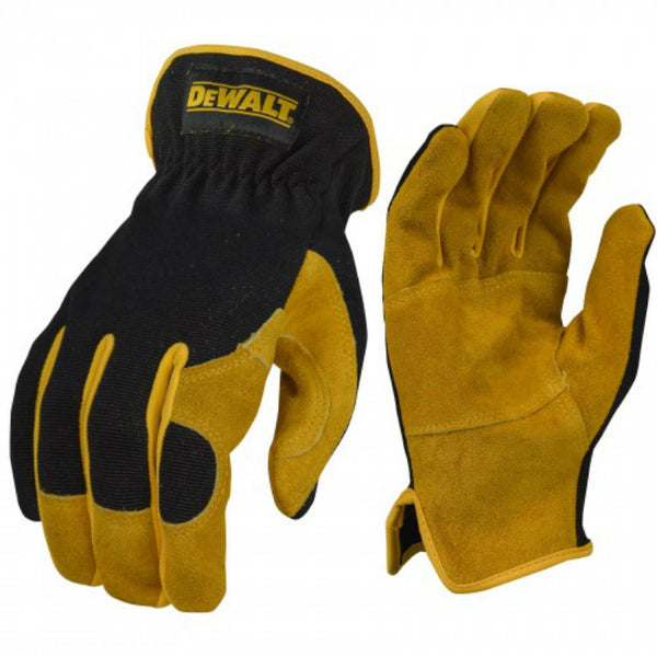 DeWalt DPG216L Leather Performance Hybrid Glove, Large