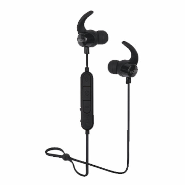 808 Audio HPA201BK EarCanz Fly Wireless Earbud, Black