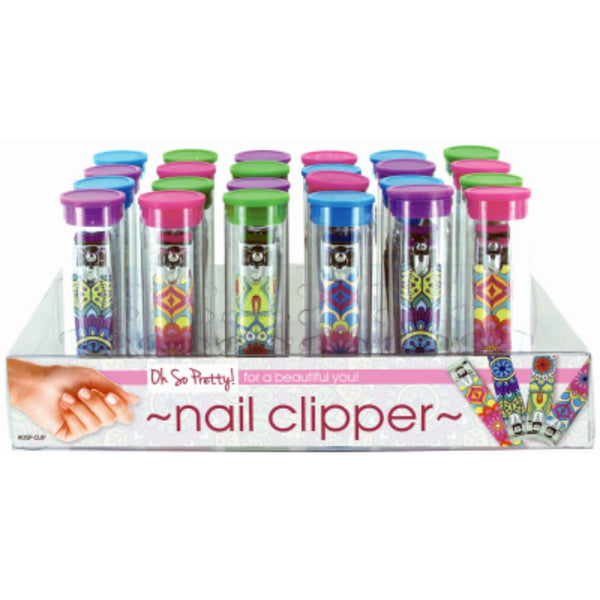 Oh So Pretty OSP-CLIP Silicone Nail Clippers, Assorted Colors
