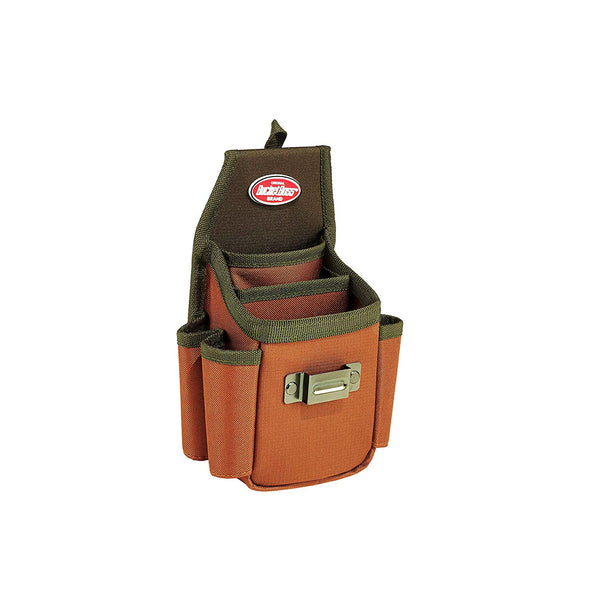 Bucket Boss 54175 Utility Plus Pouch with FlapFit, 3-Pockets