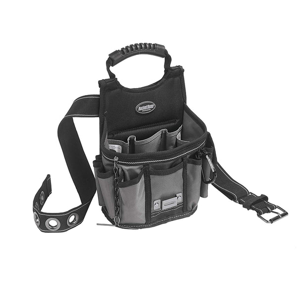 "Bucket Boss 55300 Sparky Utility Pouch with 2"" Web Belt, 17-Pockets"