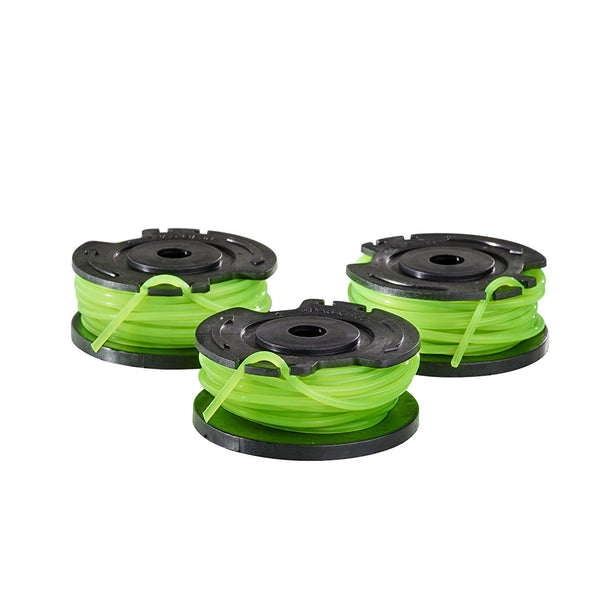 "Toro 88545 PowerPlex 40V String Trimmer 0.08"" Single Line Spool, 3-Pack"