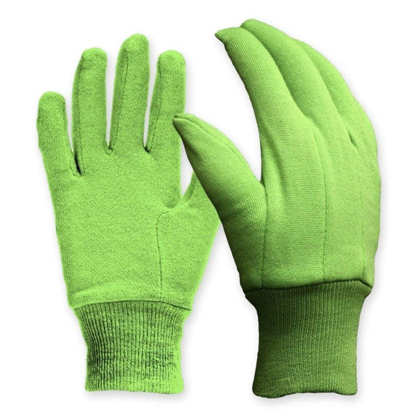 Digz 77352-26 Women's Cotton Jersey Garden Glove with Knit Wrist, Medium