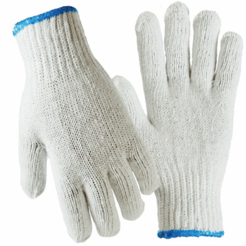 True Grip 91902-04 Men's Ambidextrous Design String Knit Glove, Large, 12-Pack