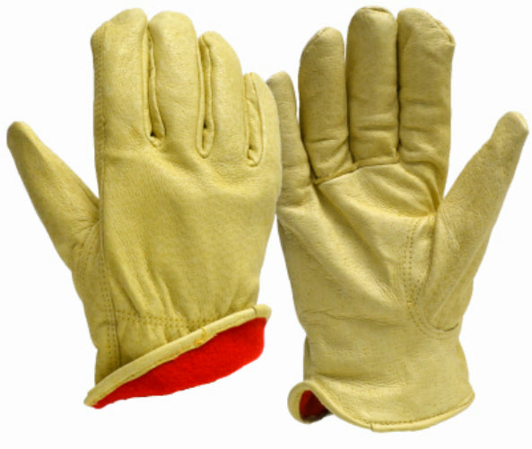 True Grip 8717-26 Men's Lined Grain Pigskin Leather Winter Glove, Large