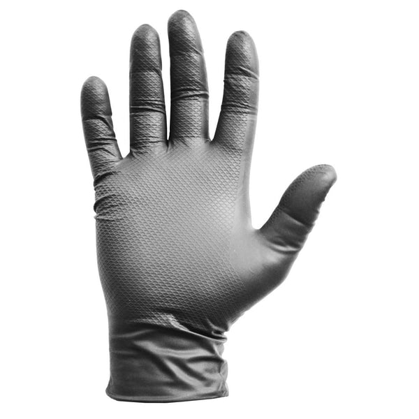 Grease Monkey 27502-16 Gorilla Grip Nitrile Disposable Gloves, Large, 50-Count