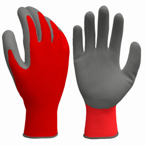 Grease Monkey 25902-26 Men's Latex Coated Honeycomb Grip Glove, Large