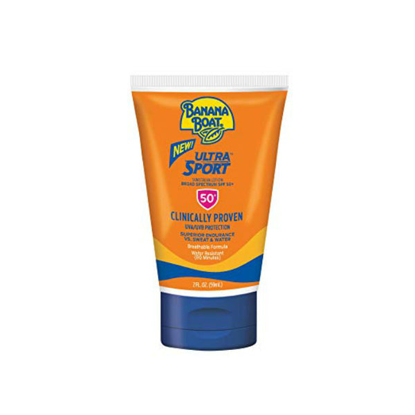 Banana Boat X1499300 Sport Performance Faces Lotion Sunscreen, SPF-50+, 2 Oz
