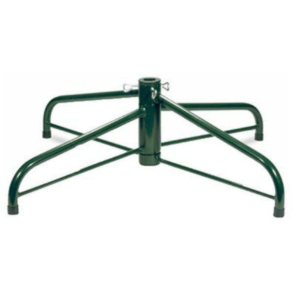 "National Tree FTS-24C Green Folding 24"" Tree Stand for 6-1/2' To 8' Trees"