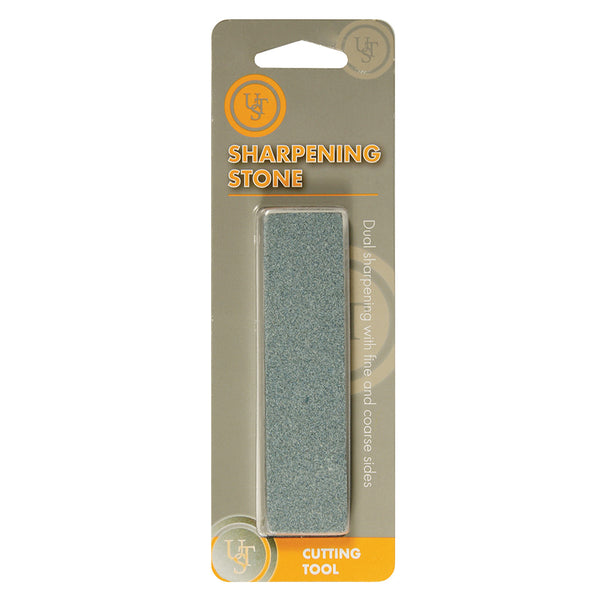 UST 20-511-310 Sharpening Stone with Fine & Coarse Side, Gray