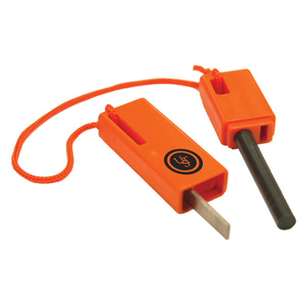 UST 20-310-259 SparkForce Fire Starter, Orange